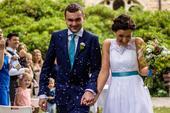 Svatební šaty 37-38, 37