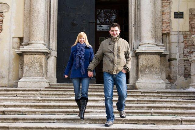 Pavučina snov - po týchto schodoch už budeme kráčať ako manželia