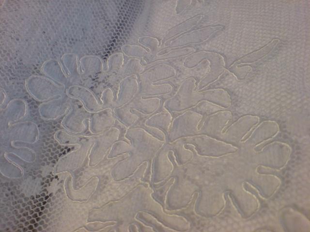 Pavučina snov - z tejto krajky budem mať svadobné šatky