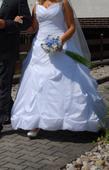 Svatební šaty vel 38-42, 42