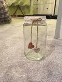 střední zavařovačky - svícny nebo vázy ,