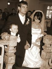 pred oltarom sme uz stali traja:)