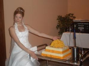 Náš úžasnej dortík, mňam