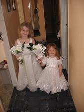 Moje holčičky - družičky