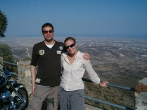 Lukáš a Lenka na dovolené na Kypru