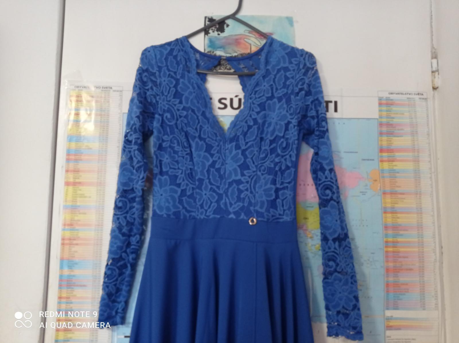 spoločenské šaty 36 - Obrázok č. 3