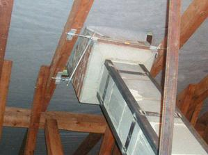 kotvící prvek do krovů