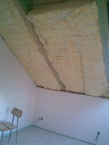 Naše bydlo - 5.10. začínáme izolovat podkroví...