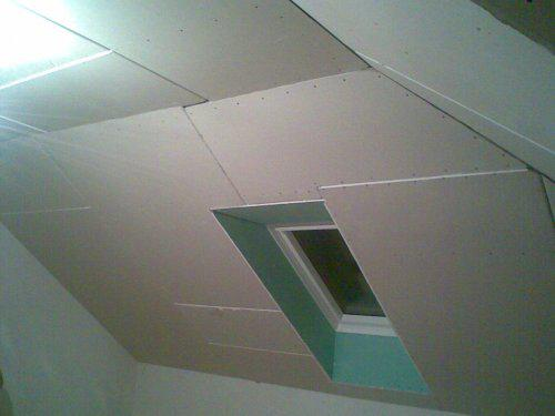 Naše bydlo - 17.11. v pokojících už je sádrokarton