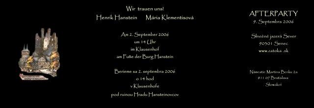 Henrik&Maria - Obrázok č. 1