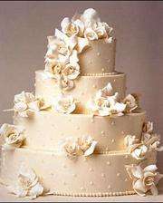 Toto bude nasa svadobnßa torta: o jedno poschodie nizsia