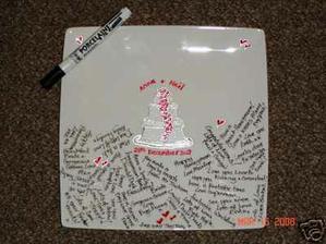 tak podpisový tanierik zoženieme nieje problém :)
