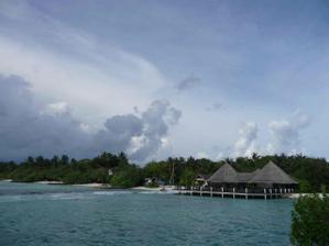 na svatební cestě na Malediváczh