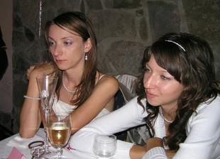 trošku unavená ale šťastná so svojou sestričkou