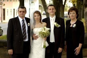obaja s mojimi rodičmi