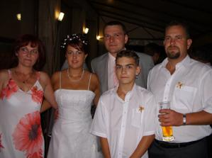 manželova sestra s rodinou