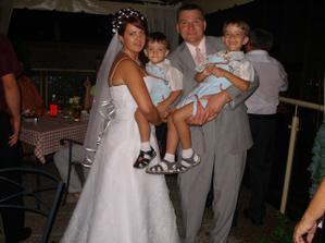 s krstnými synmi Samkom a Adamkom