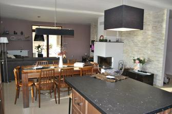 kitchen-dining room-living room