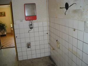 Budoucí koupelna a spíž