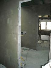 Většina zdí v patře zasíťovaná :-)