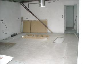 Anhydritová podlaha v kuchyni
