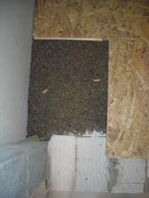 Vyrovnávání podlah v patře - Liapor + OSB desky