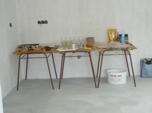 Provizorní kuchyňská linka ;-)