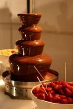 Čokoládová fontána:-)