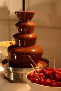 ♥Renuška♥ a ♥Raduško♥ - Čokoládová fontána:-)