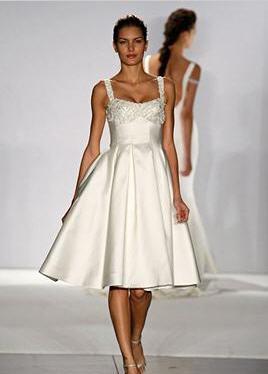 Moje retro svatba v krátkých šatech:-) - nejspíš