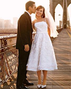 Moje retro svatba v krátkých šatech:-) - Obrázek č. 5