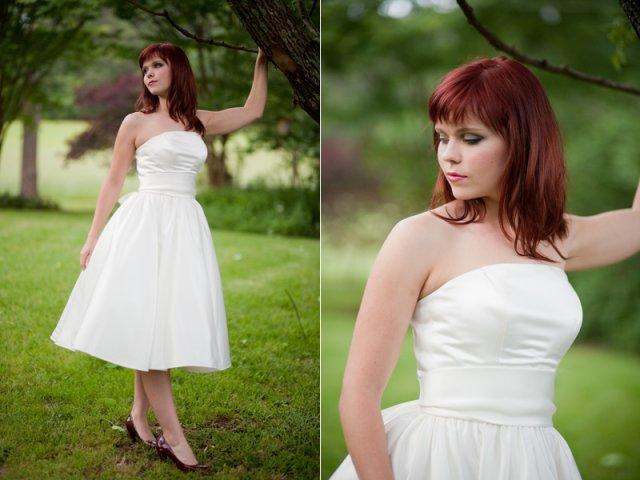 Moje retro svatba v krátkých šatech:-) - Obrázek č. 6