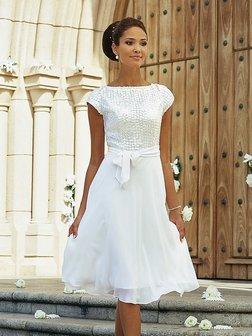 Moje retro svatba v krátkých šatech:-) - Obrázek č. 9