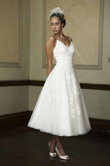 Moje retro svatba v krátkých šatech:-) - Obrázek č. 15