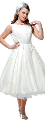 Moje retro svatba v krátkých šatech:-) - Obrázek č. 19