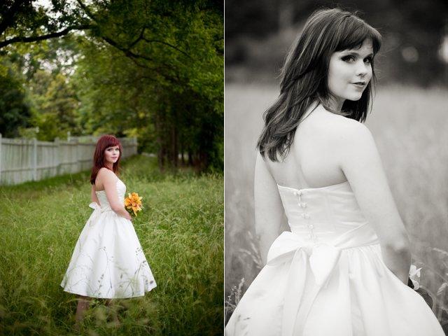Moje retro svatba v krátkých šatech:-) - Obrázek č. 21
