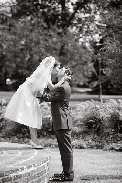 Moje retro svatba v krátkých šatech:-) - dokonalost!!