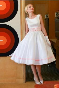 Moje retro svatba v krátkých šatech:-) - Obrázek č. 33