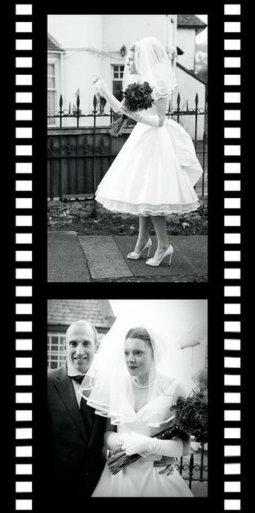 Moje retro svatba v krátkých šatech:-) - Obrázek č. 35