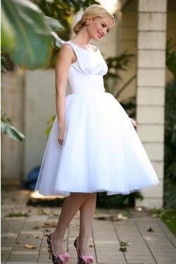 Moje retro svatba v krátkých šatech:-) - Obrázek č. 32