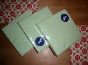 ubrousky - první nákup :-)