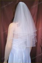 můj svatební závoj, už je na cestě :-)