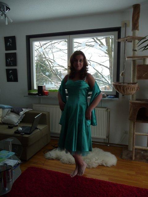 Zkoušení šatů pro družičky