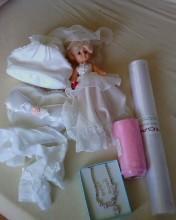 panenka, pompadurka, punčošky, organza, nahrdelnik