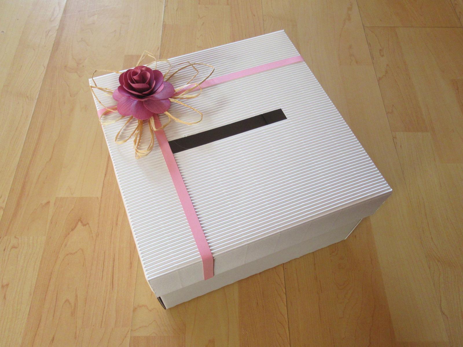 Krabička na přání (pokladnička) - Obrázek č. 1