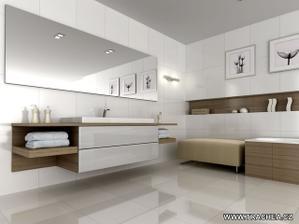 Skříňky - do větší koupelny, to by šlo...