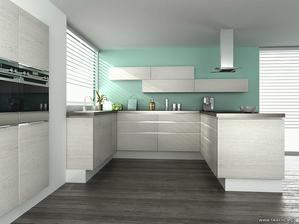 Zatím nej favorit na barvu dvířek..:) Kuchyň komplet v jedné barvě..