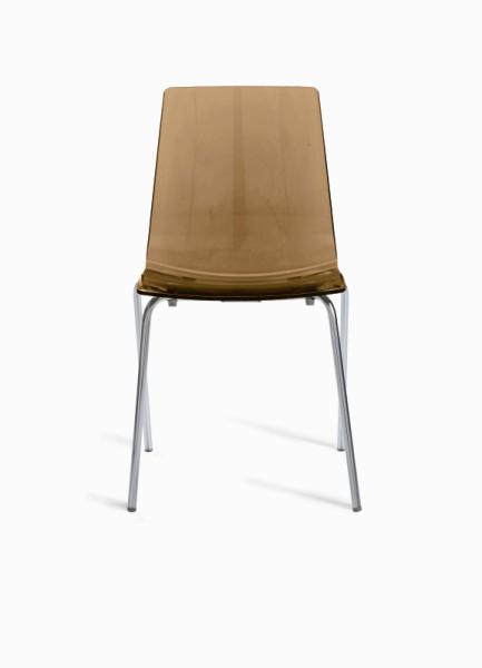 Židle Lolipop světle hnědá