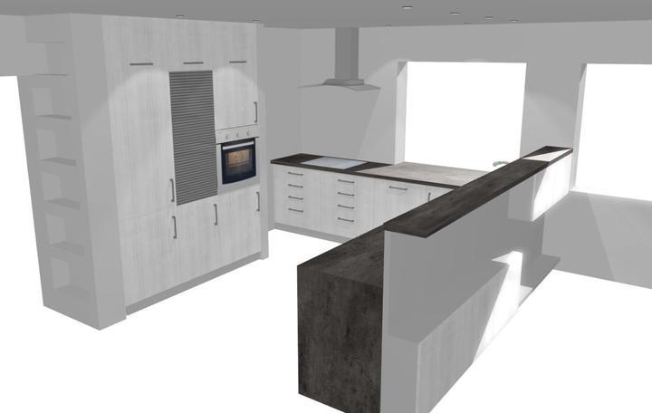 Návrh kuchyně - finále - Obrázek č. 1