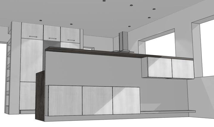 Návrh kuchyně - finále - Obrázek č. 4